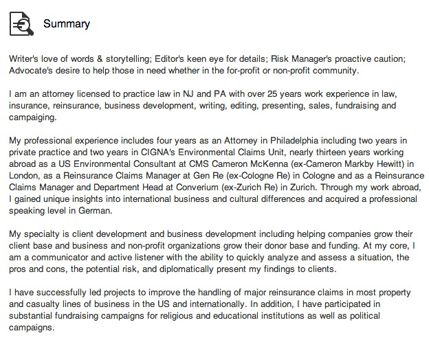 Here's how to write a compelling LinkedIn Summary!