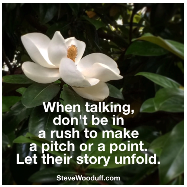 Seek out their story