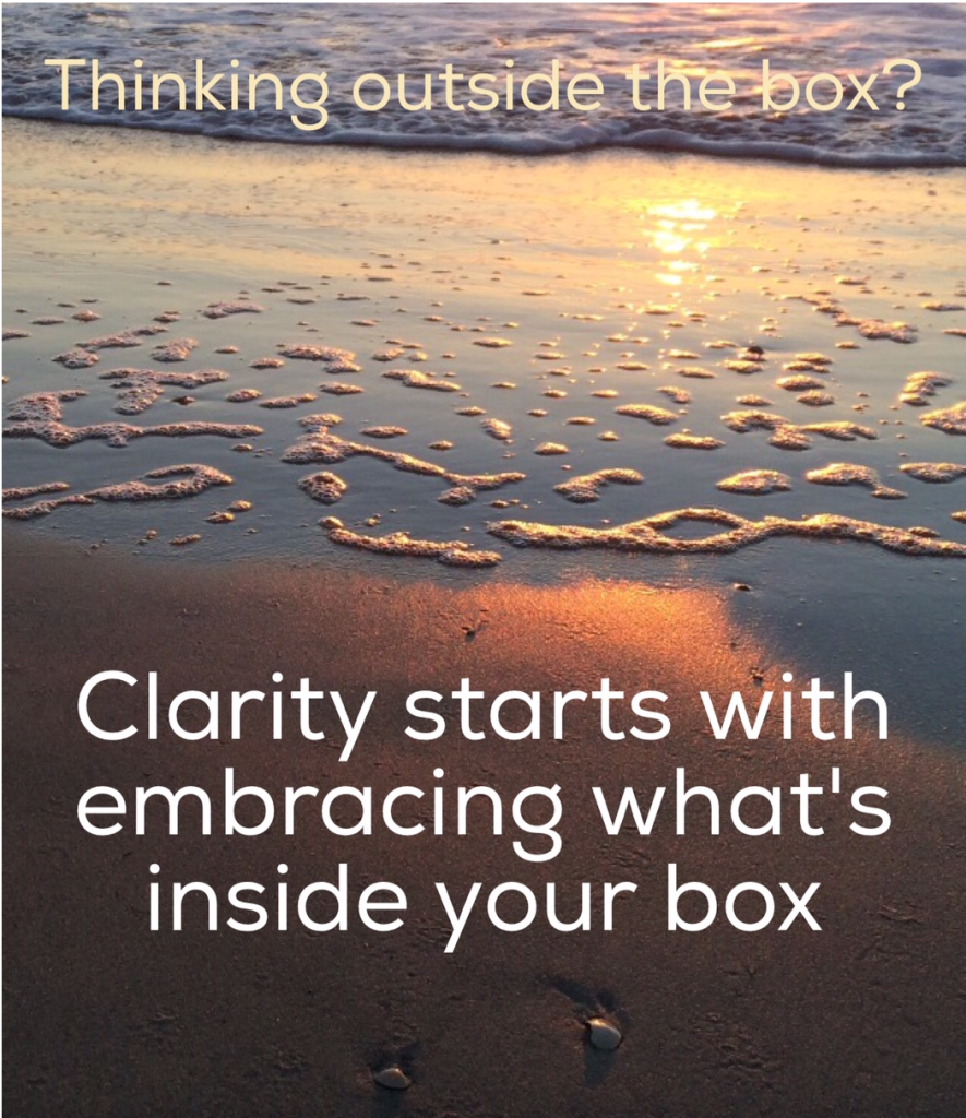 Think inside your box